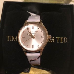 Accessories - NWT Ted Baker Floral Band Watch